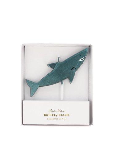 Meri Meri - Świeczka Rekin Podwodny świat