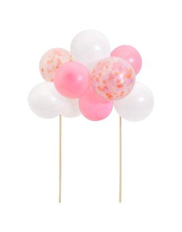 Meri Meri - Topper na tort Balony różowe