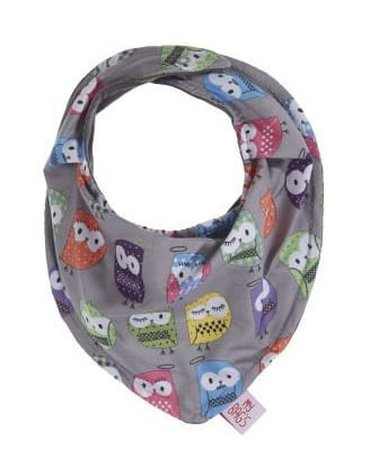 My Bag's Bandana Owl grey