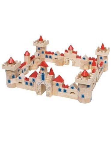 Goki® - Zamek z klocków,  zestaw, 145 części, Goki 58984