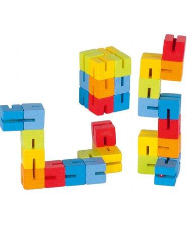 Goki® - Klocki elastyczne Mini, układanka, Goki HS 012