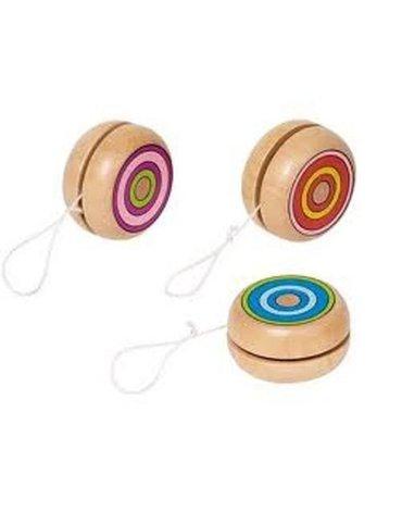 Goki® - Jojo, YoYo, Yo-Yo, zabawka do ćwiczeń manualnych, Goki 62967