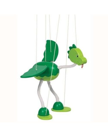 Goki® - Drewniana marionetka wzór Dinozaur, Goki 51942
