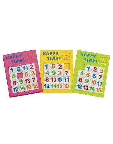 Goki® - Przesuwane puzzle liczbowe, Goki 13186