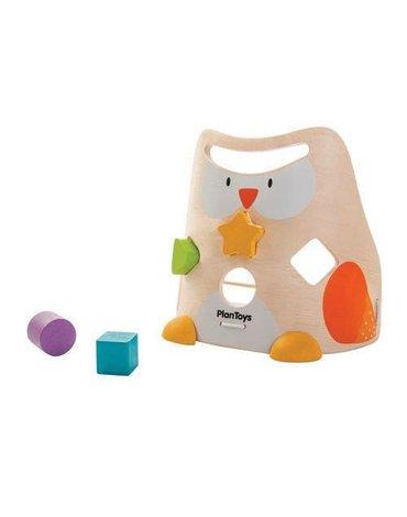 Drewniany sorter sowa, Plan Toys®