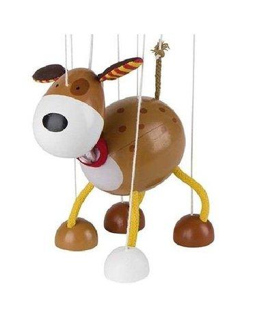 Goki® - Drewniana marionetka wzór Pies, Goki 51755