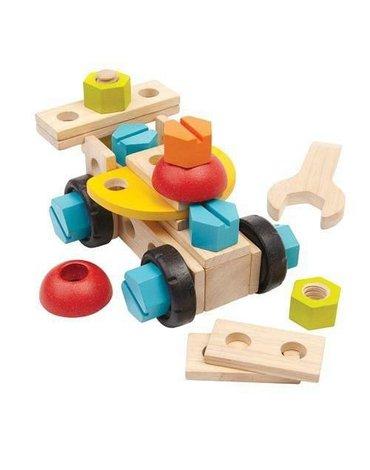 Zestaw konstrukcyjny 40 części, Plan Toys®