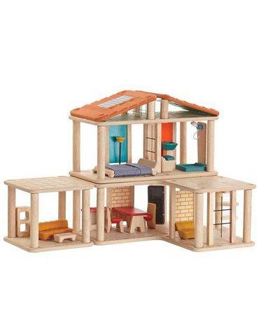 Kreatywny domek dla lalek z mebelkami, Plan Toys®
