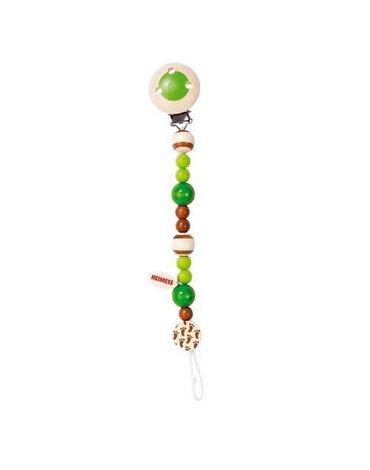 Goki® - Łańcuszek do smoczka  zielony, Heimess, 734730
