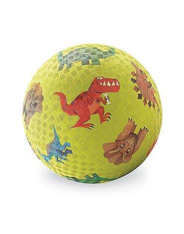 Crocodile Creek® - Piłka 5'', 13cm, wzór Dinozaury, Crocodile Creek