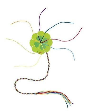 Goki® - Koniczynka do robienia biżuterii, kolor zielony, Goki-58616G