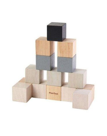Drewniane klocki, 15el., Plan Toys