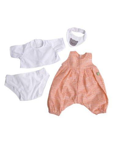 Rubens Barn® - Lalka Rubens Baby, Nora z 4 ubrankami, Rubens Barn, RB-120096