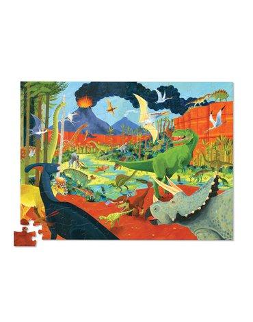 Crocodile Creek® - Puzzle 100el., motyw dinozaury, Crocodile Creek