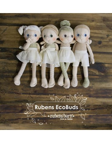 Rubens Barn® - Lalka Eco Buds, Aspen, Rubens Barn, RB-160013