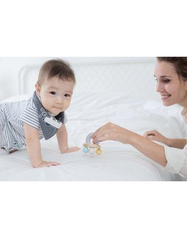 Plan Toys - Grzechotka Pastelowy dzwoneczek, PLTO-5250