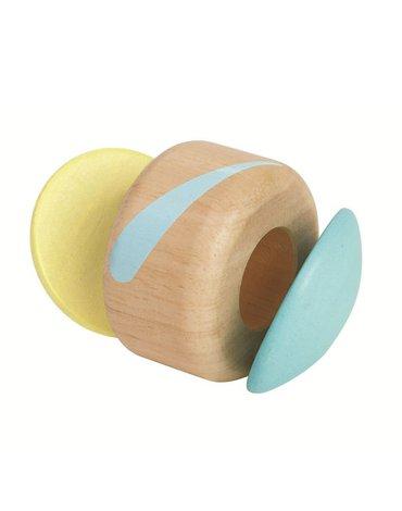 Plan Toys - Pastelowa grzechotka klaszczący roller, PLTO-5253