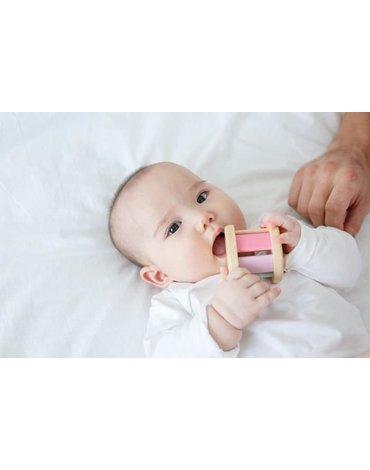Plan Toys - Pastelowa grzechotka roller, PLTO-5255