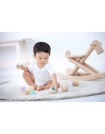 Pastelowe kuleczki sensoryczne | Plan Toys