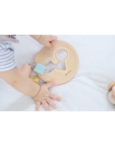 Plan Toys - Pastelowy  pierwszy sorter, PLTO-5259