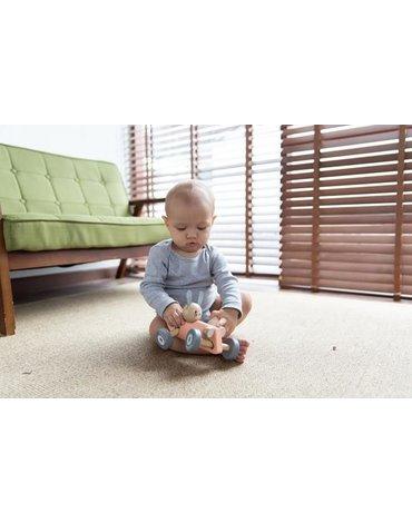 Plan Toys - Pastelowa rajdówka z królikiem, PLTO-5717