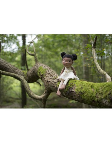 Rubens Barn® - Lalka Eco Buds, Poppy, Rubens Barn