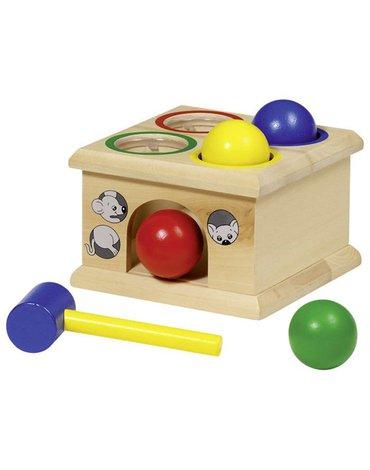 Goki® - Drewniana gra złap myszkę, Goki-WM914