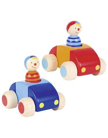 Goki® - Samochód z kierowcą i klaksonem,Goki-55014