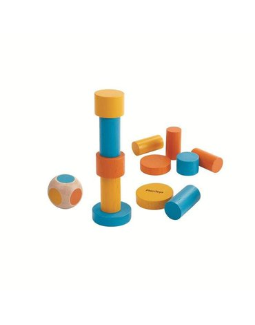 Mini gra zręcznościowa, balansująca wieża | Plan Toys