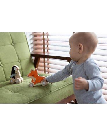 Pojazd do zabawy, Pingwin na kółkach | Plan Toys