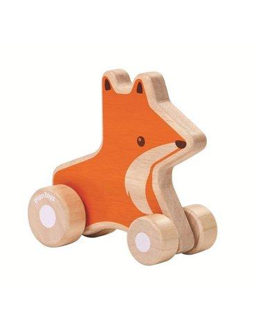 Pojazd do zabawy, Lisek na kółkach | Plan Toys