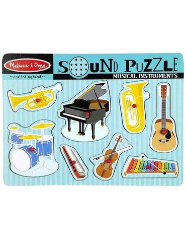 Melissa&Doug® - Melissa Puzzle Dzwiękowe Instrumenty Muzyczne, MD10732