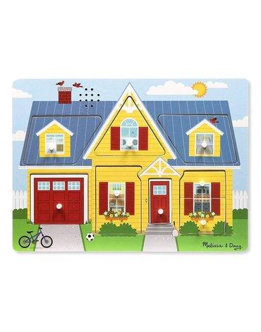Melissa&Doug® - Melissa and Doug Puzzle Dźwiękowe Odgłosy Domu 2+, MD10734