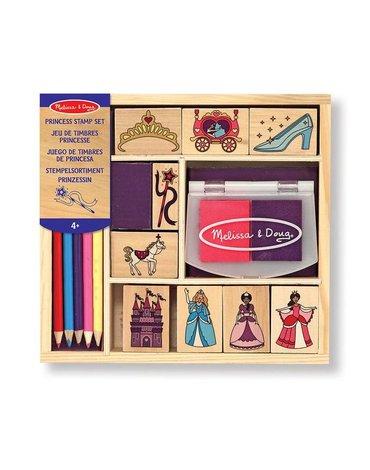 Melissa&Doug® - Zestaw stempelków dla księżniczki, MD12418