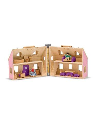 Melissa&Doug® - Domek dla lalek Walizeczka, MD13701