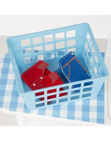 Melissa&Doug® - Drewniany zestaw pralnia - suszarnia - prasowalnia, MD19352