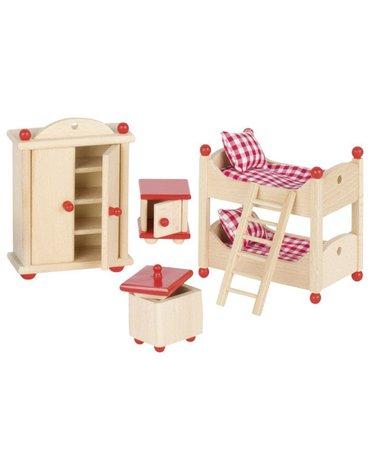 Goki® - Sypialnia dziecięca do domu dla lalek, GOKI-51953