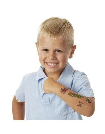 Tatuaże dla Dzieci Pojazdy, Bohaterowie, Sport Melissa&Doug®