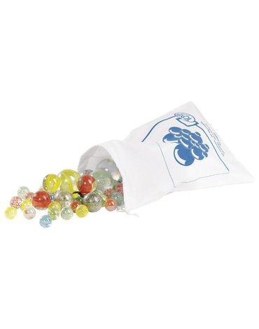Goki® - Szklane kulki w białym woreczku, GOKI-63952