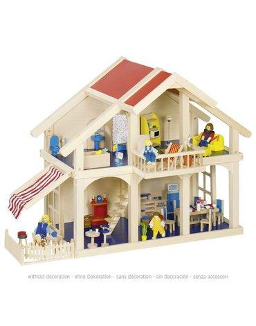 Goki® - Domek dla lalek z patio, GOKI-51893