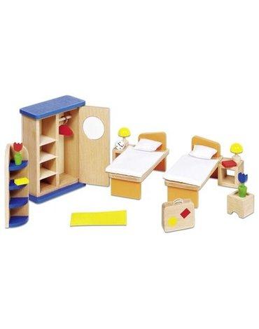 Goki® - Sypialnia do domku dla lalek