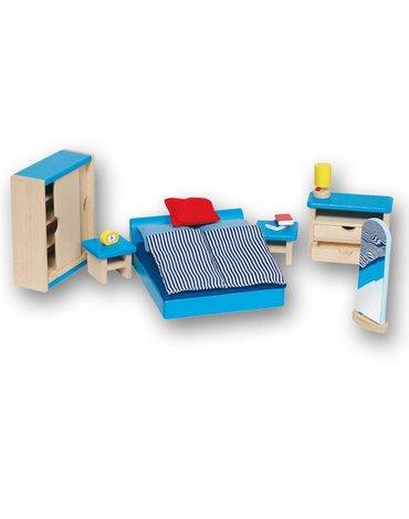 Goki® - Sypialnia do domu dla lalek