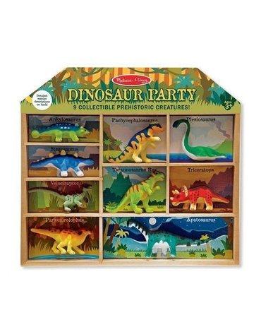 Melissa&Doug® - Melissa and Doug, Zestaw Figurek Dinozaury