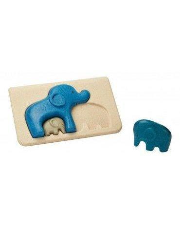 Słonie - Puzzle drewniane, Plan Toys