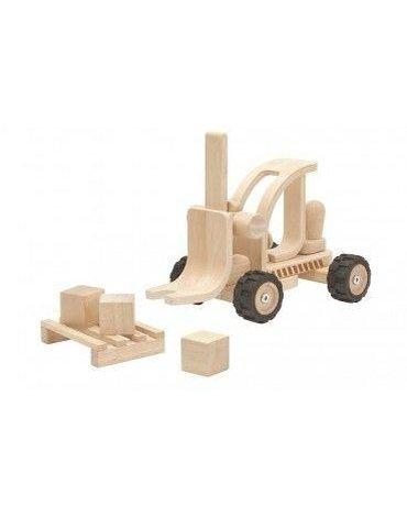 Wielkie pojazdy - Wózek widłowy - edycja specjalna, Plan Toys