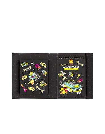 Tiger Tribe® - Neonowy zestaw plastyczny: Królowie szos
