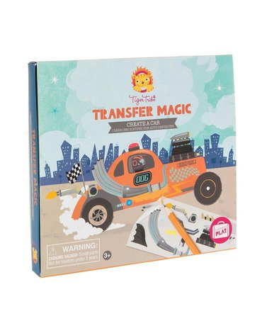Tiger Tribe® - Zdrapywanki Transfer Magic, Stwórz Samochód