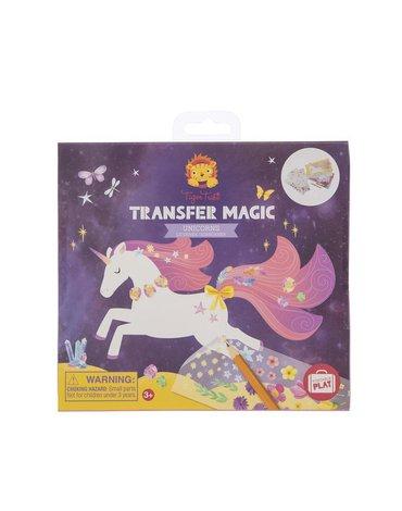 Tiger Tribe® - Zdrapywanki Transfer Magic, Jednorożce