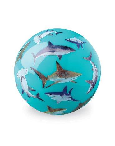 Crocodile Creek® - Piłka 10 cm, wzór rekiny