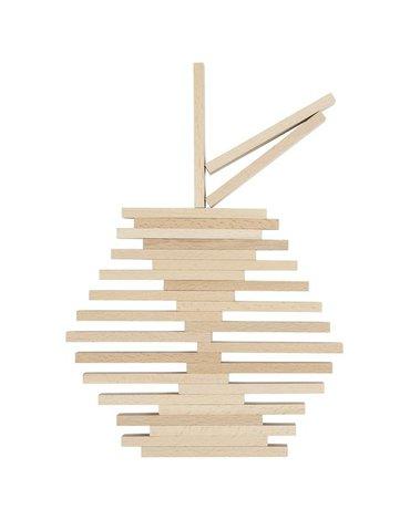 Goki® - Naturalne klocki do budowania - deseczki, Goki